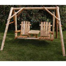 Backyard Creations Cedar Log Swing 1000 Ideas About Yard Swing On Outdoor Swings