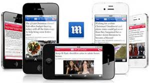 daily mail mobile apps iphone android