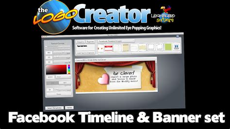 facebook timeline and cover maker logo creator