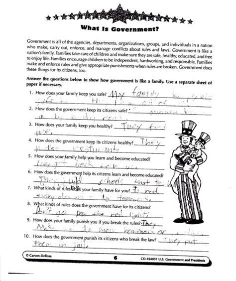 Government Worksheets For 2nd Grade by 4th Grade Social Studies Worksheets On Government Middle