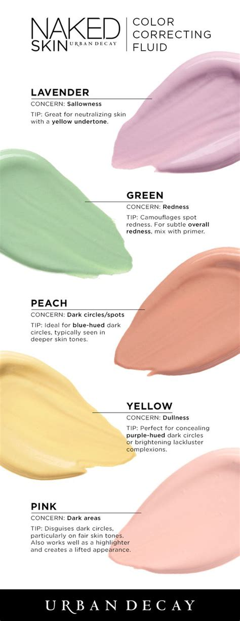 how to color correct makeup skin color correcting fluid makeup hacks