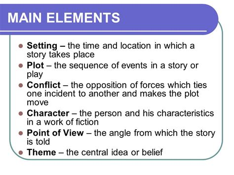 kind of themes in a story the elements of a story information for kids gr 7 9