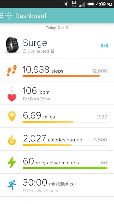 fitbit android app fitbit android apps on play