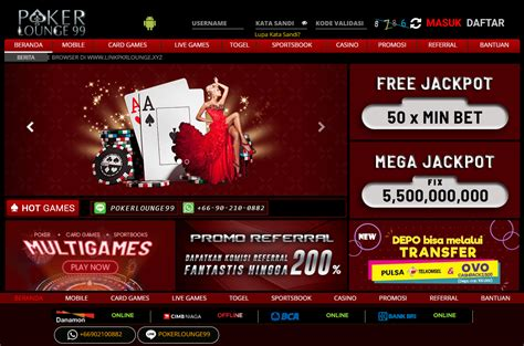 pokerlounge situs poker togel  games terpercaya bandar qq judi domino qq
