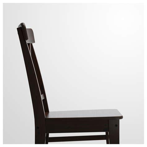 chaise ingolf ingolf chaise brun noir ikea