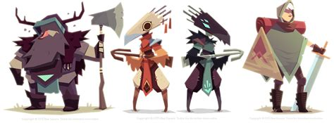 game design visual style 33 peculiar character design styles of the modern day
