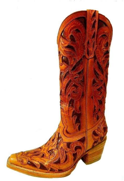 custom cowboy boots custom tooled cowboy boot made to order any style