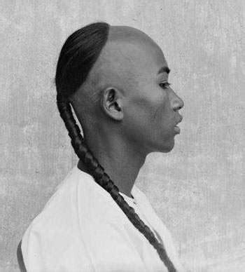 queue  cue   mens hairstyle traditionally worn