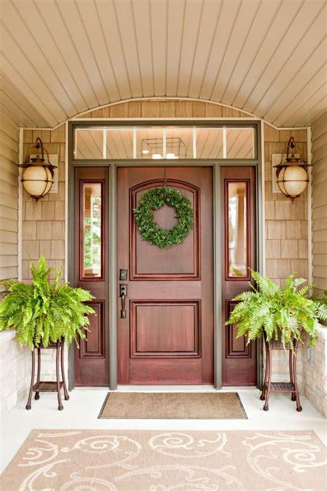 replace  front door   top windows