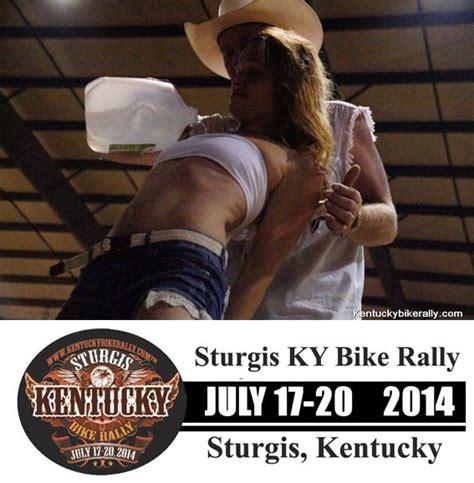 little sturgis rally and races 2014 little sturgis kentucky wet t shirt contest going on now 2014 kentucky bike rally