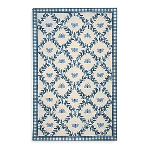 bed bath beyond chelsea safavieh chelsea collection blue bee wool rugs bed bath