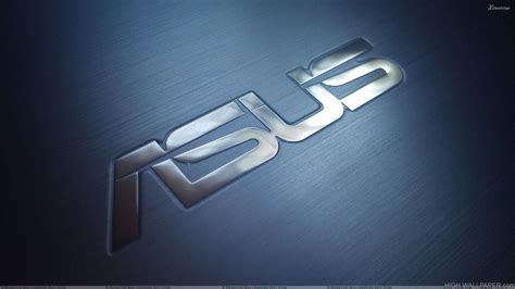 asus logo  blue background hd wallpaper