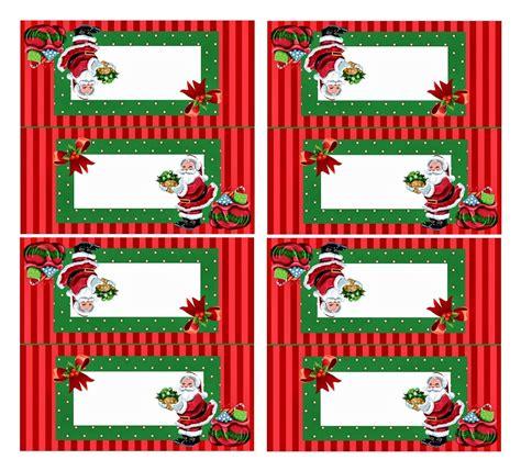Marque Place Noel marque place de table 224 imprimer pour no 235 l 224 la maison