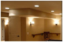 recessed lighting basement square foot tips concrete