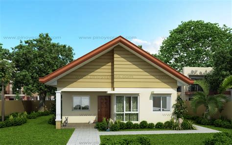 simple bungalow house eplans modern