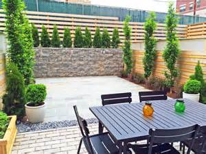 Patio Design Townhouse Townhouse Backyard Bluestone Patio Cedar Fence