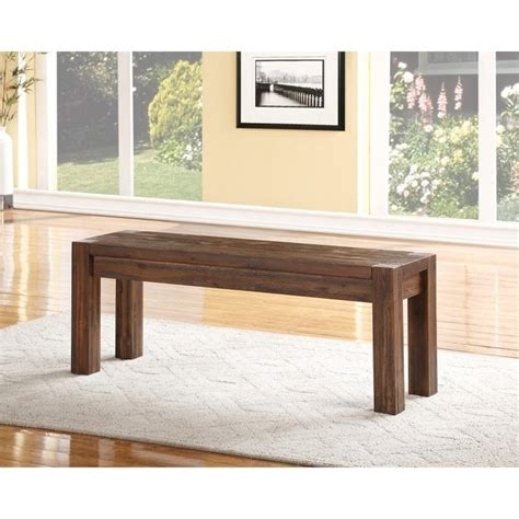 brick and wood bench meadow solid wood bench in brick brown 3f4191