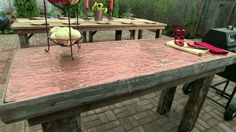outdoor table top ideas affordable diy patio furniture ideas for you the home