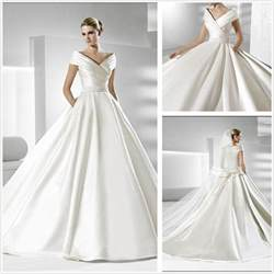 wedding dresses simple but elegant flower dresses