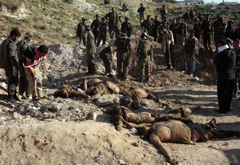 syria report on torture executions politicized photos