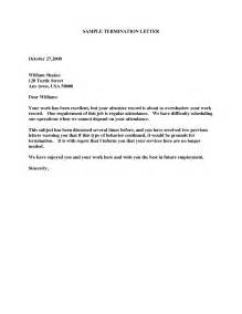 Exle Of Termination Letter To Employee by Termination Letter Fotolip Rich Image And Wallpaper