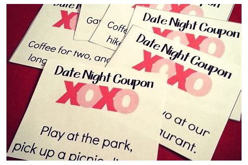 printable date night coupons