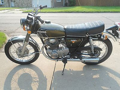 1972 honda cb 350 motorcycles for sale