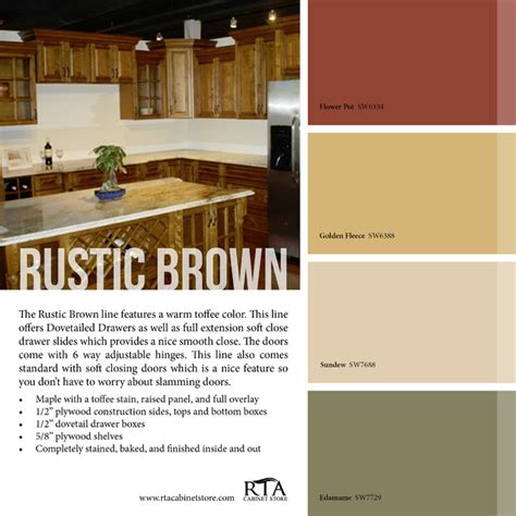 rustic color schemes color palettes rustic philadelphia by rta cabinet store
