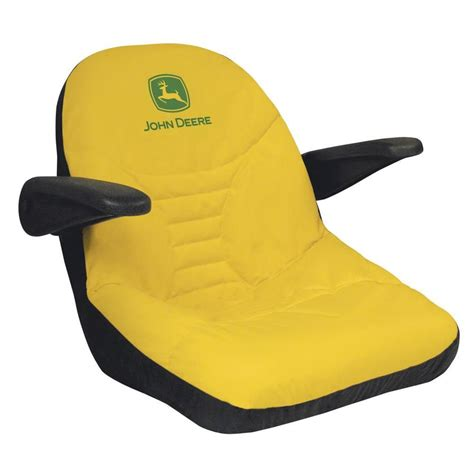 lawn mower seat covers shop deere mid back lawn mower seat cover at lowes