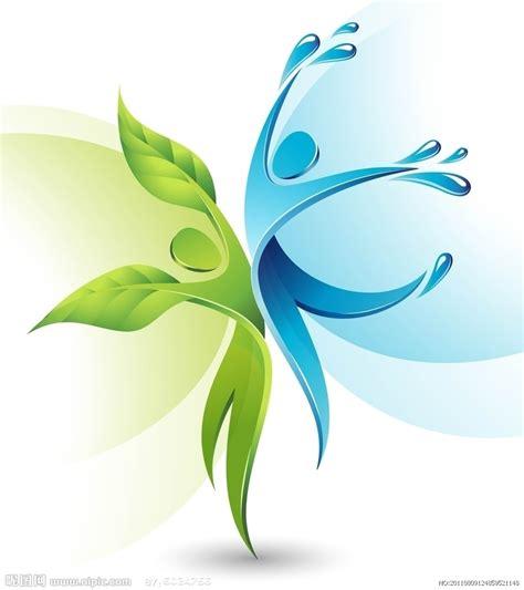 环保 环保项目 环保手抄报 淘宝助理 Green Concept Logo Vectors