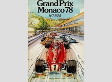 GP Monaco 1978 - Racing Sports Cars F1 Driver Numbers