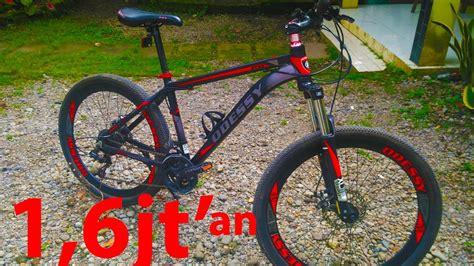 Sepeda Gunung Mtb 26 New Odessy Alloy Free Ongkir sepeda mtb alloy murah keren harga kere