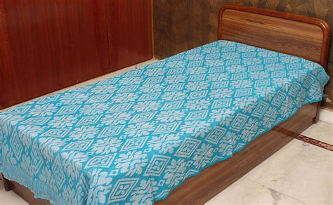 single bed coverlets robin egg single bed bedspread from coimbatore