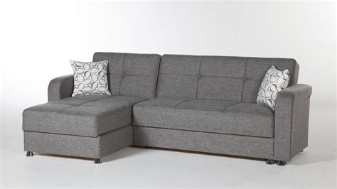 sectional couch with sleeper vision sectional sleeper sofa