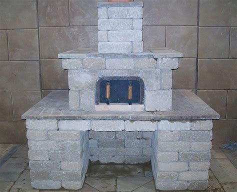 Fireplace Kit Tyual Diy Brick Mailbox Kit