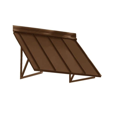 beauty mark awning beauty mark 6 6 ft houstonian metal standing seam awning
