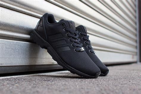 black zx flux adidas originals zx flux sneakers addict