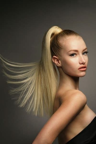 sleek high ponytail 15 fabulous back to