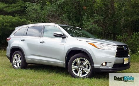 Toyota Limited Review 2016 Toyota Highlander Hybrid Limited Awd Paul