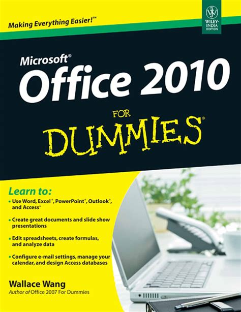for dummies ms office 2010 computer it books