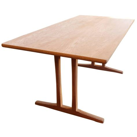 shaker dining table c18 designed by b 248 rge mogensen and f
