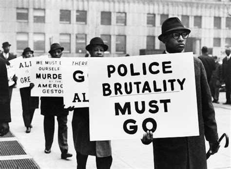 civil rights movement police brutality policing the police a civil rights story origins