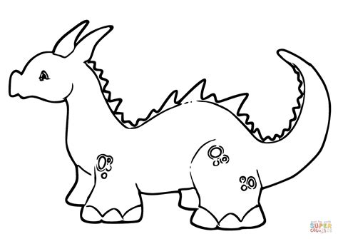 coloring pages of cute baby dragons cute baby dragon coloring page free printable coloring pages