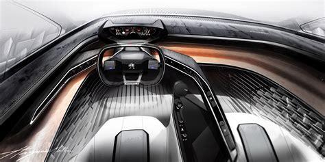 peugeot car interior peugeot concept interior pixshark com images