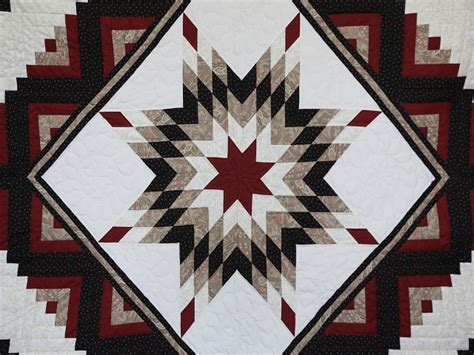 Lone Log Cabin Quilt Pattern by Lone Log Cabin Quilt Terrific Cleverly Made Amish
