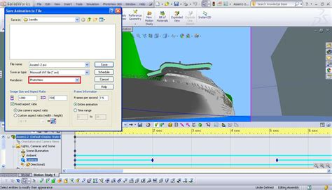 rendering animation with photoview in solidworks grabcad solidworks photoview 360 video rendering exle best