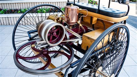 Benz Patent Motorwagen Throttle Driving The World S