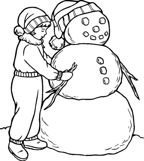 little snowman coloring page free coloring pages of little snowman