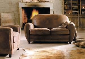 Ikea Chaise Sofa Sof 225 De Cuero Envejecido Estilo Vintage Im 225 Genes Y Fotos