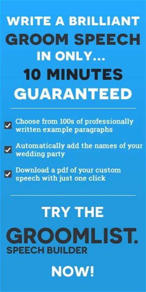 Best 25  Groom speech template ideas on Pinterest   Speech